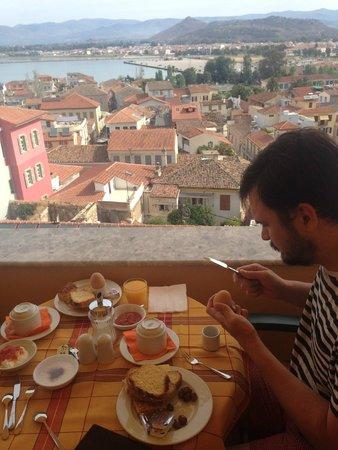 Pension Marianna : завтрак