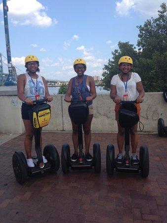 Philadelphia Segway Tours by Wheel Fun Rentals: Segwaying thru Philly