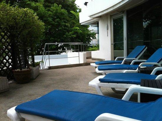 Le Siam Hôtel: Pool Area on the 5th fl.