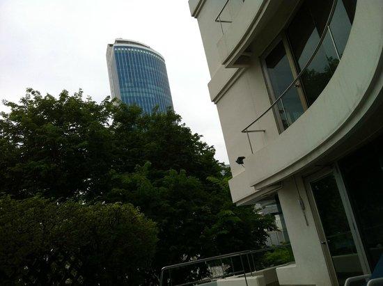 Le Siam Hôtel: Hotel View