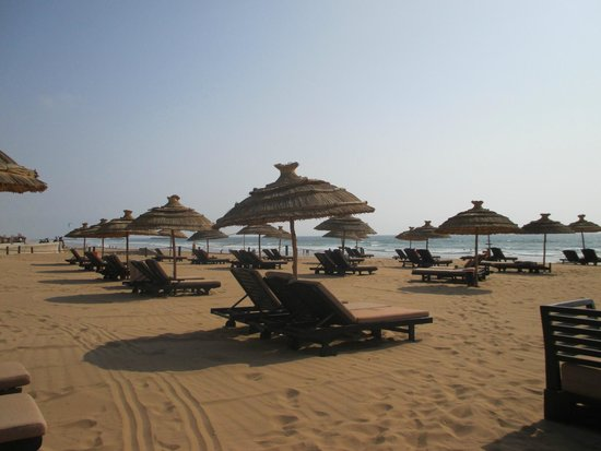 Hôtel Sofitel Agadir Royal Bay Resort: la plage privée
