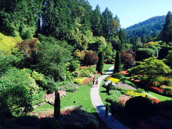 Butchart Gardens : The Sunken Garden