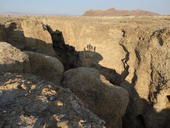 Sossus Dune Lodges: Sesriem Canyon
