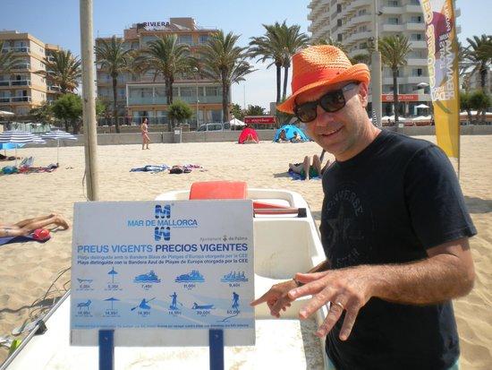 Caballero Hotel : Spiaggia