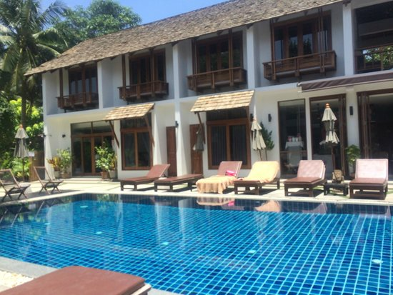 Sairee Cottage Resort: View from the pool