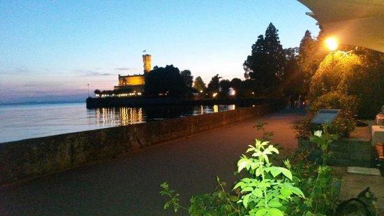 Seevital Hotel Schiff: Abend aud der Terrasse