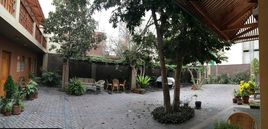 Casa Inca, Boutique Hotel: The backyard