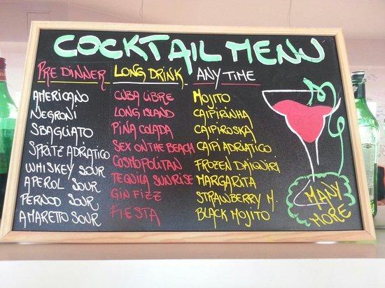 Villaggio Turistico Adriatico: I nostri cocktails e drink pestati