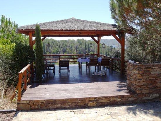 Moura Encantada Villa: La terrasse
