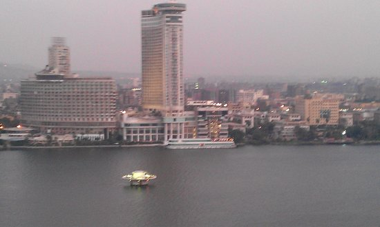 Grand Nile Tower: The Grand Nile across the river