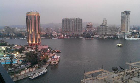Grand Nile Tower: A view from the room