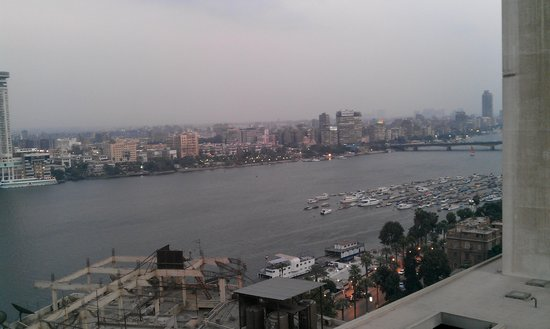 Grand Nile Tower: Another view from the room