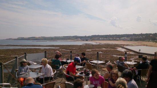 Scottish Seabird Centre: Morning coffee!