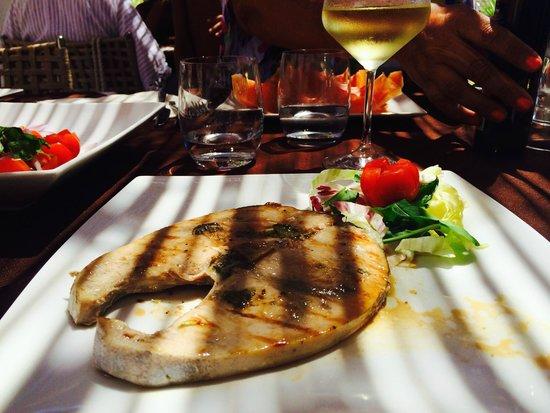 Cala Croce Club - da Mimmo : trancio di pesce spada