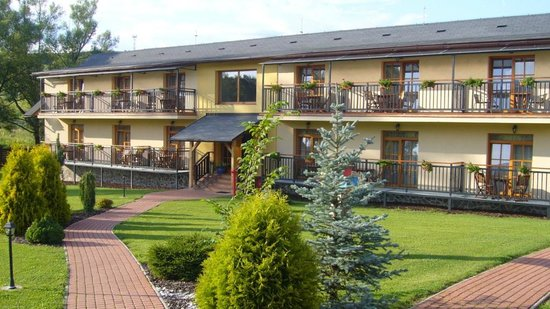 """Sojka resort: La section chambres """"supérieures"""""""