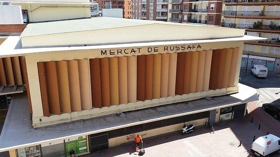 Russafa Youth Hostel: VISTA DESDE LA HABITACION