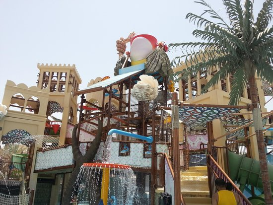 Yas Waterworld Abu Dhabi : ألعاب الأطفال
