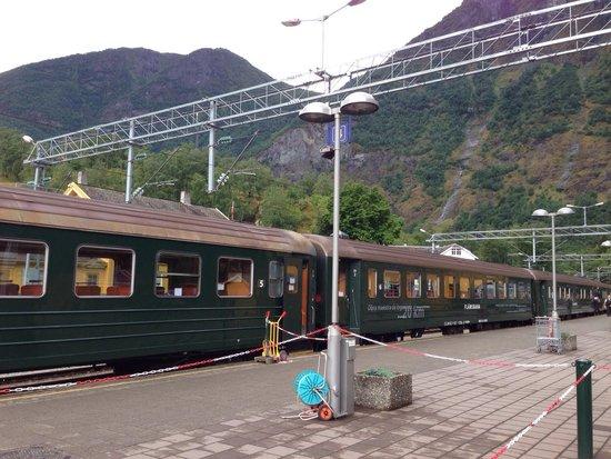 The Flam Railway : The train