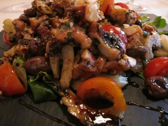 Da Vic - Ristorante Guerrini : タコのサラダ