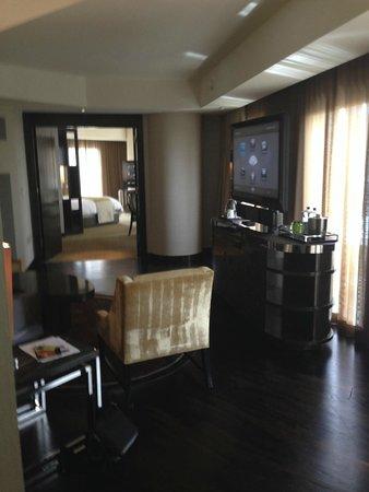 Mandarin Oriental, Las Vegas: Vue du salon