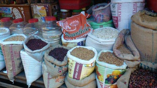 Sita Cultural Center: spices at the goubert market