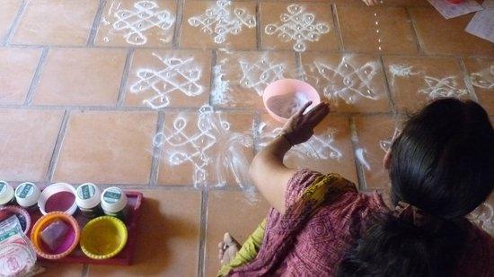 Sita Cultural Center: koram drawing