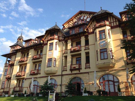 Grandhotel Stary Smokovec: front view 2
