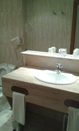 Hotel Albufera : Baño