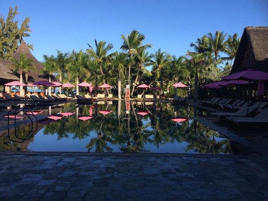 Club Med La Pointe aux Canonniers: petite mais très belle piscine