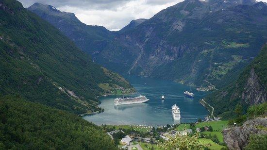 Geiranger Fjord : Geiranger