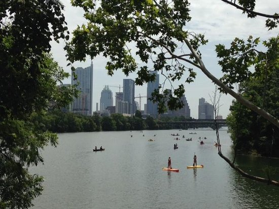 Zilker Metropolitan Park : Downtown views