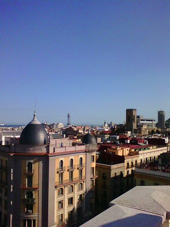 H10 Montcada Boutique Hotel: View from the  hotel terrace