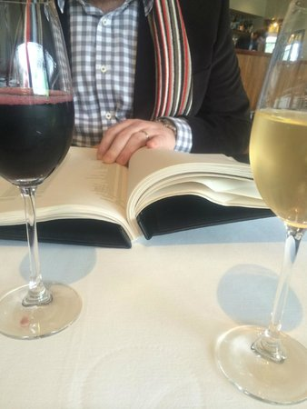 Royal Mail Hotel: The wine list