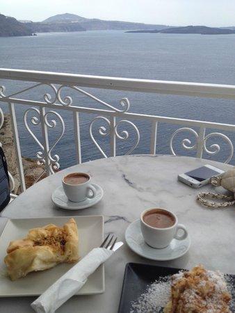 SKIZA Cafe: View from the balcony