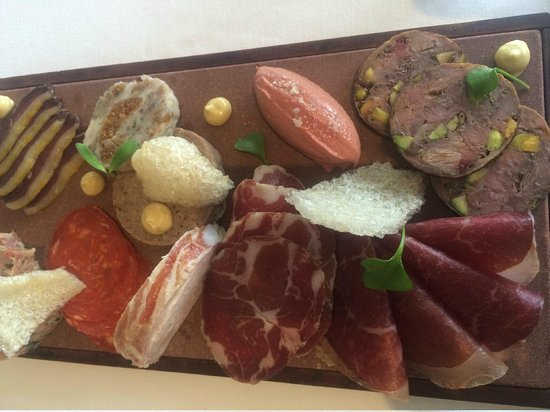 Royal Mail Hotel: Charcuterie board