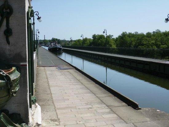 Pont Canal de Briare: Le pont-canal vu du côté de Saint-Firmin-sur-Loire