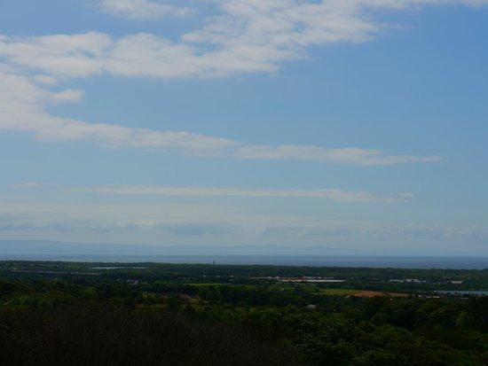 Margam Park: Views looking east