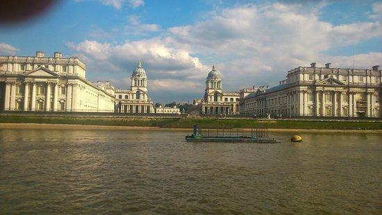 De Vere Devonport House: views from a river ferry of Greenwich