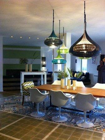 Les Jardins De Villa Maroc : intérieur restaurant