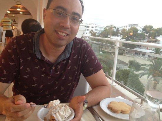 Sensimar Rocador: View from buffet restaurant overlooking beach
