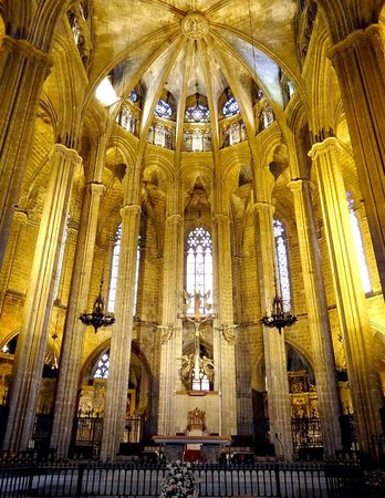 Barcelona Cathedral : The Cathedral of the Holy Cross and Saint Eulalia