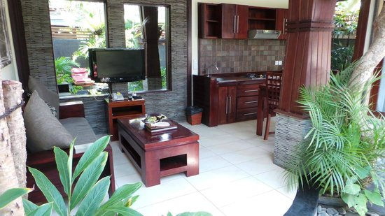 Bali Dream Suite Villa: Living room/sitting area