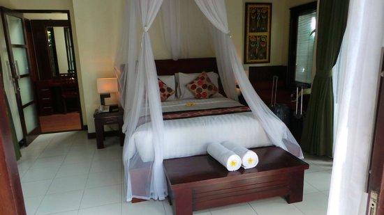 Bali Dream Suite Villa: super comfortable bed!