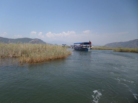 Dalyan Nehri: река Дальян