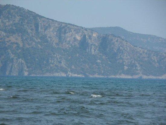 Dalyan Nehri: река Дальян сливается со Средиземным морем