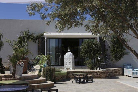Les Jardins De Villa Maroc : entrée du restaurant