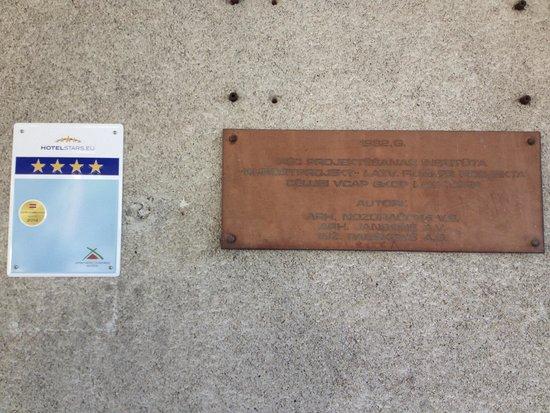 Semarah Hotel Lielupe: 4 Sterne 2014 ???? unmöglich !