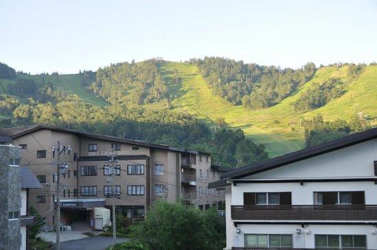 Shiga Kiraku Hotel: バス停至近の宿