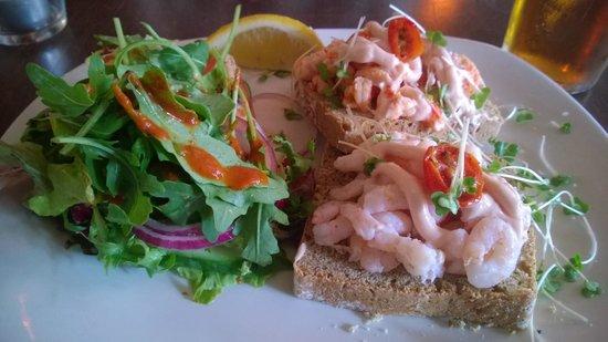 The Bloody Stream : Open sandwich