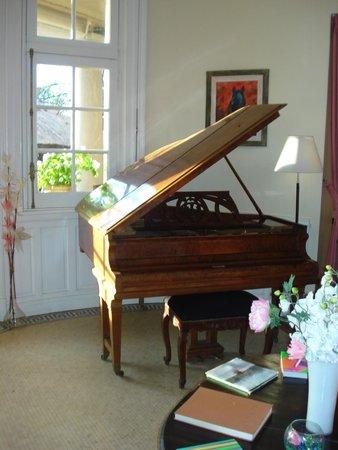 Hotel Villa Julia : me encantó el piano